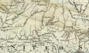 Bluegrass Map 1811